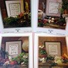 4 Shepherds sampler Garden Series Cross Stitch