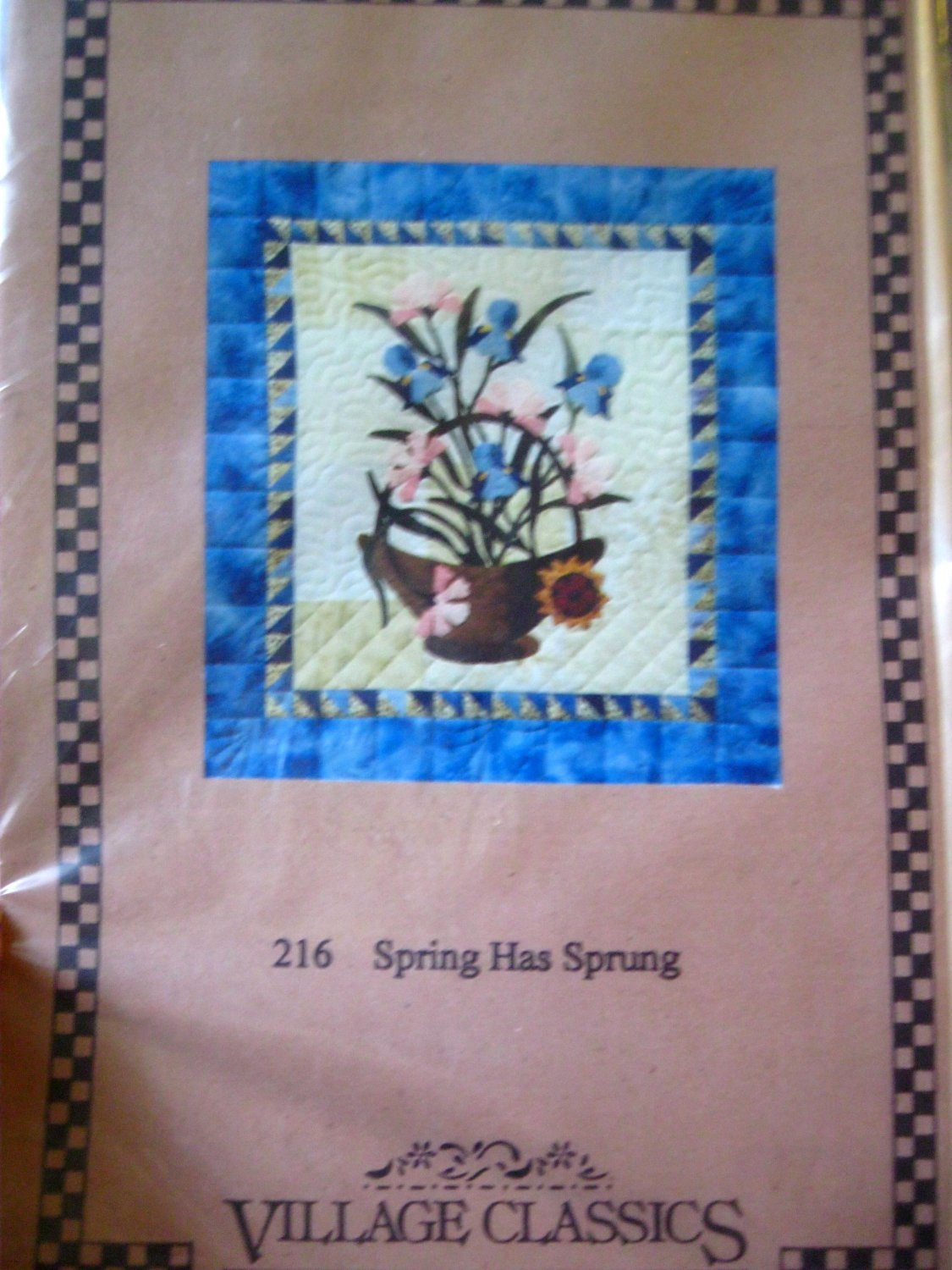 Spring Has Sprung Floral Quilt Pattern Village Classics