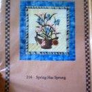 Spring Has Sprung Floral Quilt Pattern Village Classics