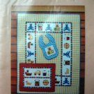 The Toy chest Crib Quilt, Wall Quilt and Bib Pattern