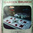 Garden Brunch Table Runner Quilt Pattern