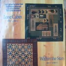 2 for 1 Within the Stars and Lone Cabin Classics Quilt Pattern
