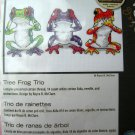 Dimensions Counted Cross Stitch Tree Frog Trio