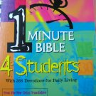 One Minute Bible for Students 0805493484
