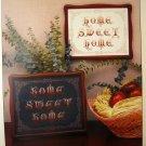 Home Sweet Home Cross Stitch Leaflet Emery Carolyn