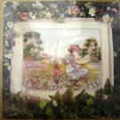 Spring Meadow Scene Embellished Cross Stitch Kit
