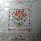 Bucilla Cross Stitch Kit Pretty Posies Dean's Closet