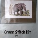 The Big Five Elephant Cross Stitch Kit by Mollink