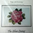 Nordic Needle Rose SILVER LINING FLOWER Cross Stitch Pattern