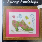 Fancy Footsteps Cross Stitch Kit Shoe Serendipity designs