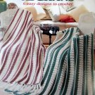 Mile-A-Minute Afghans: 6 Easy Designs to Crochet by Kathy Wesley