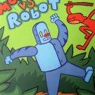 Monkey vs Robot James Kochalka Graphic Novel TPB Indy Top Shelf Adventure
