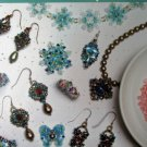 Endless Sparkle: 12 Crystal Components Aimee Carpenter Jewelry