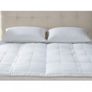Quilted Pillow Top Featherbed ( Queen )