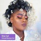 Darling Diva Curl - Colour #1/39 (Jet Black/Burgundy)