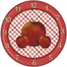 APPLE TEACHER CLOCK -- GREAT TEACHER APPRECIATION GIFT!