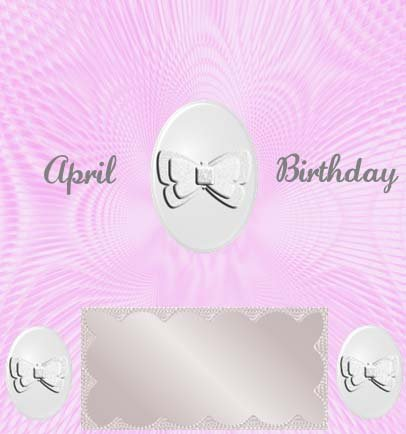 PERSONALIZED BIRTHDAY CANDY BARS FAVORS GIFTS - APRIL