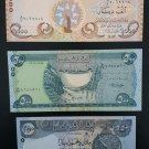 IRAQ 15 UNC Banknotes set of 3 x5 PCs.,Uncirculated Papermoney
