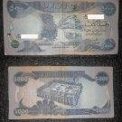 Iraq 5000 D banknote