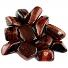 Large Tumbled Red Tigers Eye Crystal Gemstone | Wicca | Witchcraft | Pagan | Rituals | Occult
