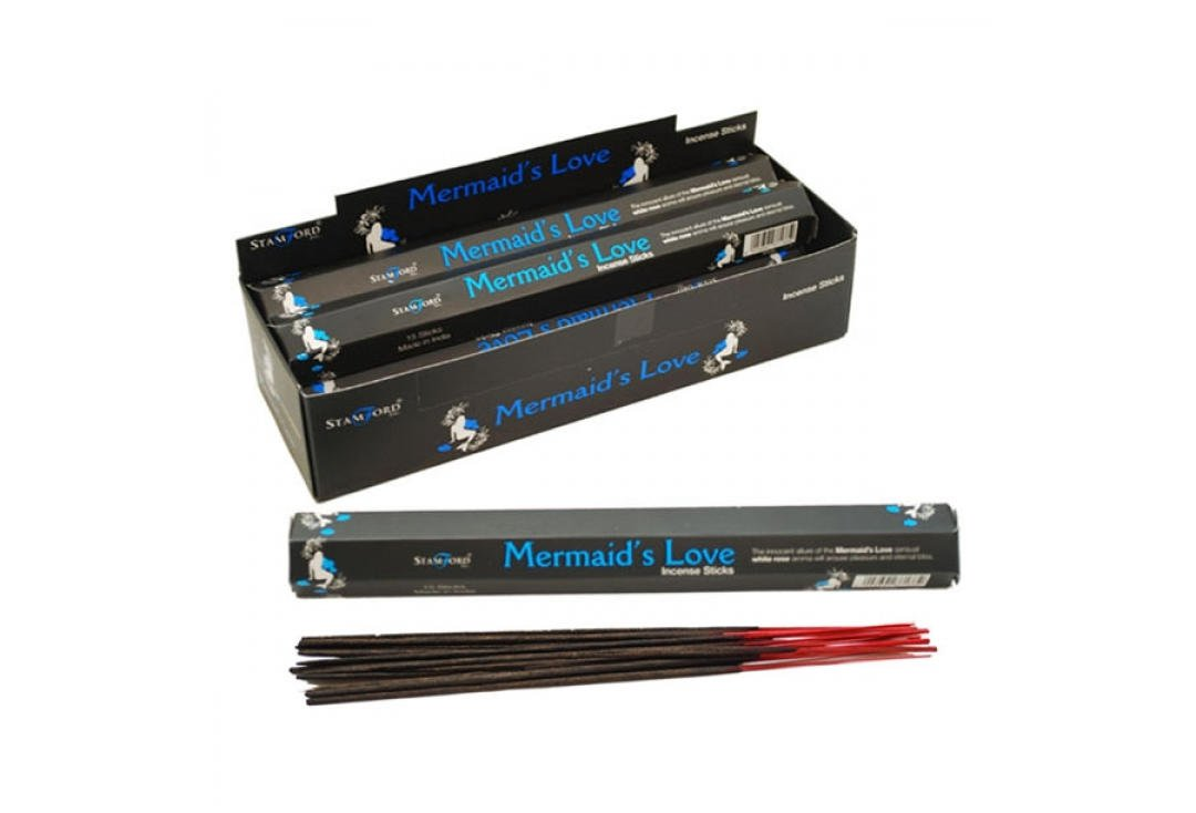 Mermaids Love Burning Incense / Josh Sticks  | Wicca | Witchcraft | Pagan | Rituals | Occult