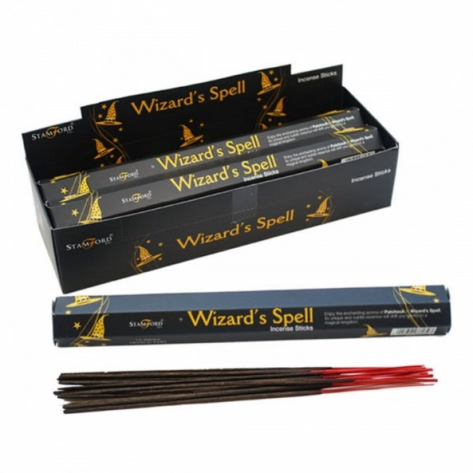 Wizards Spell Burning Incense / Josh Sticks  | Wicca | Witchcraft | Pagan | Rituals | Occult