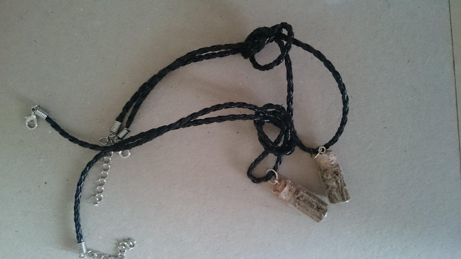 Witches Spell Bottle Pendant for Protection   Wicca   Witchcraft   Pagan   Occult   Spells   Magick