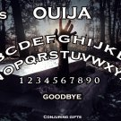 Haunting Graveyard A4 Ouija Board :Laminated Print (Ghost Hunting EVP, Wicca, Witchcraft)