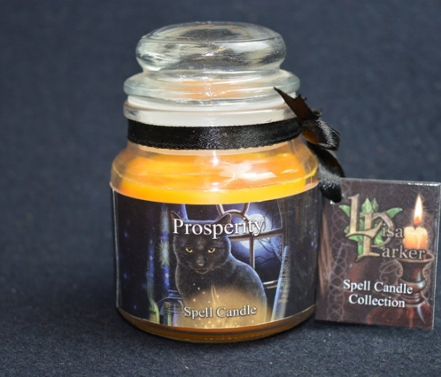 Prosperity Spell Candle | Wicca | Witchcraft | Lisa Parker | Spells | Magick