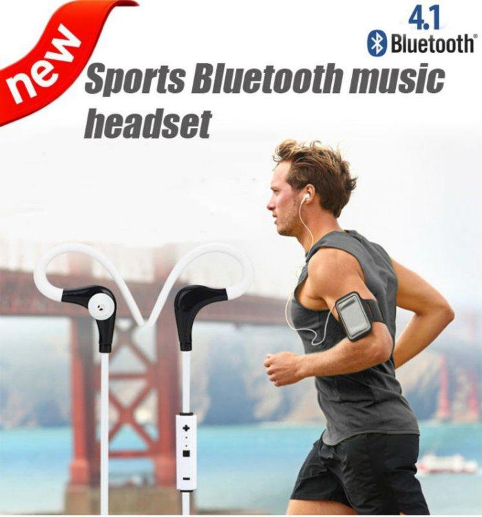 SM-B1 Sports Wireless Hands-free In-ear Bluetooth 4.0 Earphone Headphone Headset Black