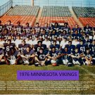 1976 MINNESOTA VIKINGS 8X10 TEAM PHOTO FOOTBALL NFL PICTURE