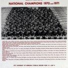 1970-71 NEBRASKA CORNHUSKERS 8X10 TEAM PHOTO PICTURE NCAA FOOTBALL CHAMPS