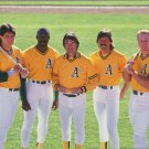 MARK McGWIRE LaRUSSA ECKERSLEY STEWART CANSECO 8X10 PHOTO ATHLETICS A's PICTURE