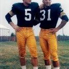 JIM TAYLOR & PAUL HORNUNG 8X10 PHOTO GREEN BAY PACKERS NFL FOOTBALL GAME