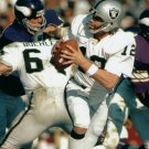KEN STABLER 8X10 PHOTO OAKLAND RAIDERS PICTURE NFL FOOTBALL VS VIKINGS