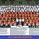 2015 DENVER BRONCOS 8X10 TEAM PHOTO PICTURE NFL FOOTBALL