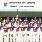 1988 OLYMPIC BOXING TEAM 8X10 PHOTO USA OLYMPICS PICTURE MICHAEL CARBAJAL