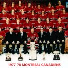 MONTREAL CANADIENS 1977-78 8X10 TEAM PHOTO HOCKEY NHL PICTURE STANLEY CUP CHAMPS