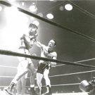 SUGAR RAY ROBINSON vs CARMEN BASILIO 8X10 PHOTO BOXING PICTURE