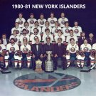 1980-81 NEW YORK ISLANDERS 8X10 TEAM PHOTO NY PICTURE NHL HOCKEY