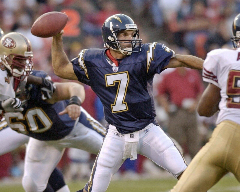 DOUR FLUTIE 8X10 PHOTO SAN DIEGO CHARGERS PICTURE NFL FOOTBALL