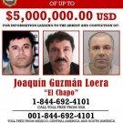 EL CHAPO WANTED POSTER 8X10 PHOTO MEXICO ORGANIZED CRIME DRUG CARTEL GUZMAN