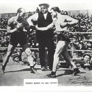 TOMMY BURNS vs BILL SQUIRE 8X10 PHOTO BOXING PICTURE