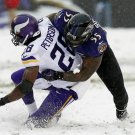ADRIAN PETERSON TERRELL SUGGS 8X10 PHOTO MINNESOTA VIKINGS PICTURE NFL FOOTBALL