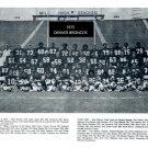 1975 DENVER BRONCOS 8X10 TEAM PHOTO PICTURE NFL FOOTBALL