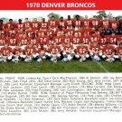 1970 DENVER BRONCOS 8X10 TEAM PHOTO PICTURE NFL FOOTBALL