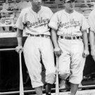 DIXIE WALKER & JOE MEDWICK 8X10 PHOTO BROOKLYN DODGERS BASEBALL PICTURE MLB