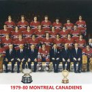 MONTREAL CANADIENS 1979-80 8X10 TEAM PHOTO HOCKEY NHL PICTURE STANLEY CUP CHAMPS