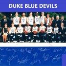1999-2000 DUKE BLUE DEVILS TEAM 8X10 PHOTO PICTURE NCAA BASKETBALL