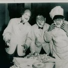 THREE STOOGES 8X10 PHOTO TV MOVIES FROSTING IN FACE